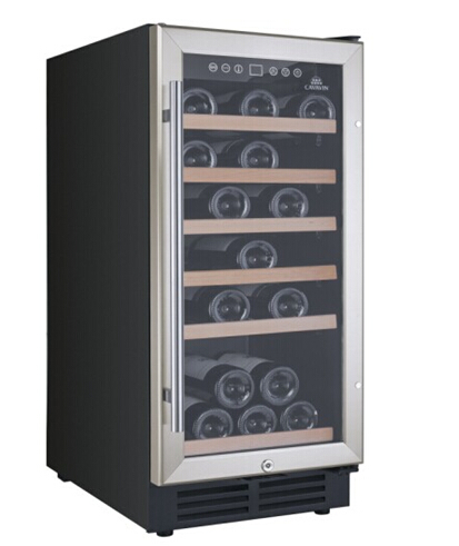 NS-WCS05 Non-Seamless Stainless Steel Door Frame Wine Cooler