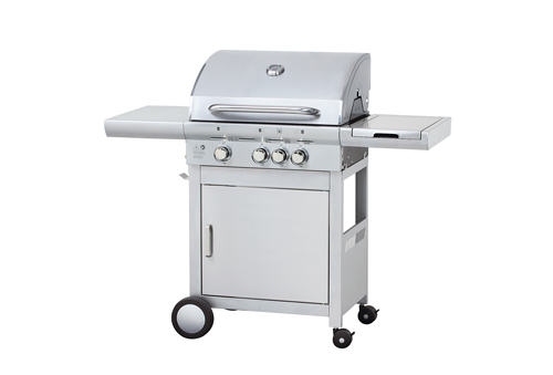 Stainless Steel 4 Burner Outdoor Gas BBQ Grill