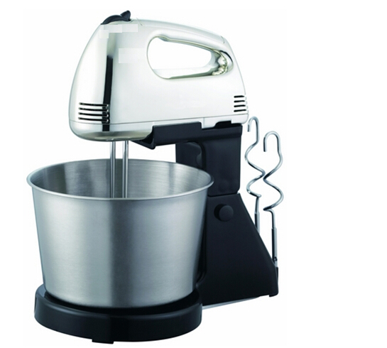 120Watt  Classic 2Liter Stainless Steel Bowl Hand Mixer