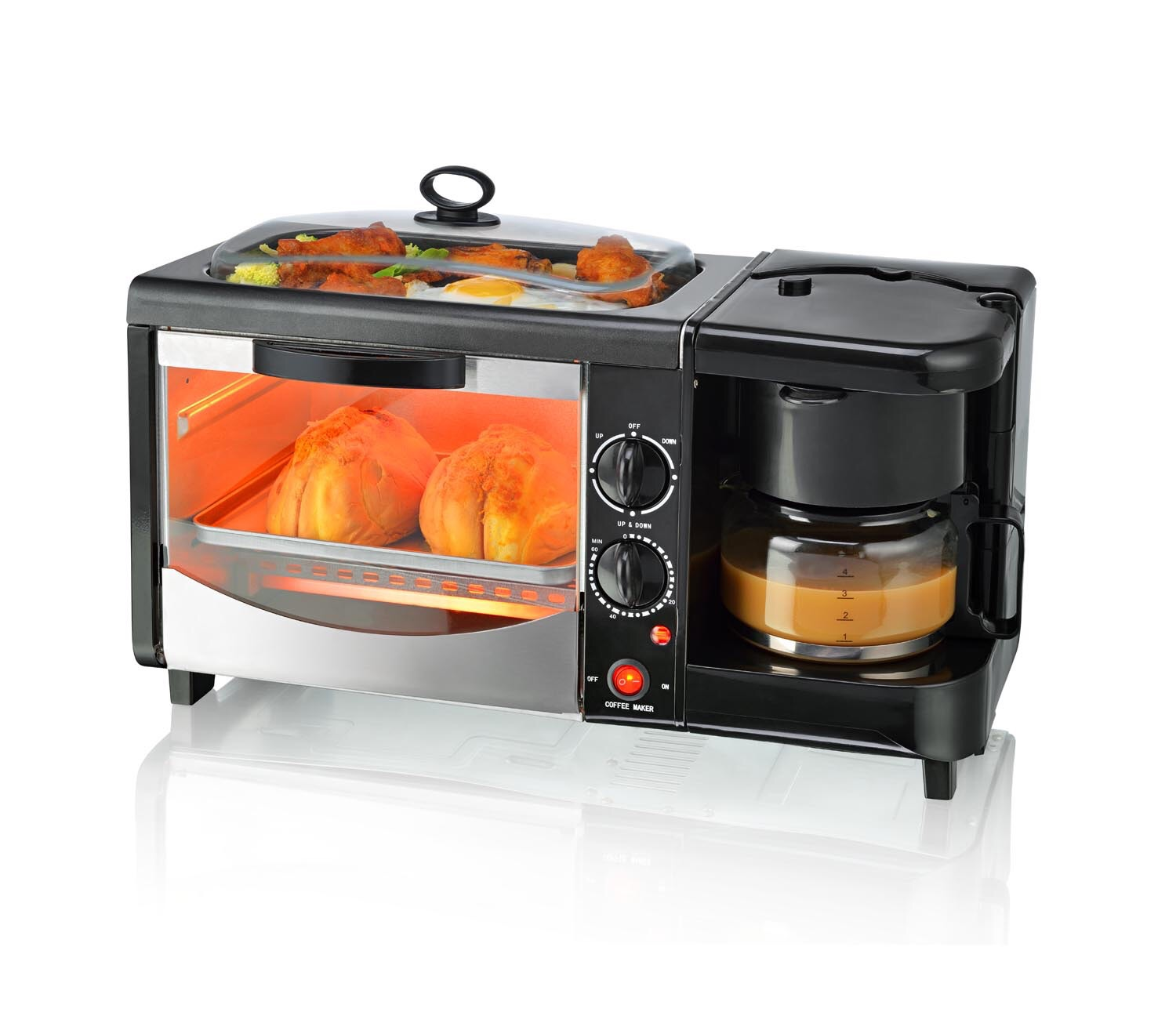 Uncategorized 3 In 1 Kitchen Appliances 3 in 1 breakfast makerelectric oven products www newstarnet cn kitchen appliance maker