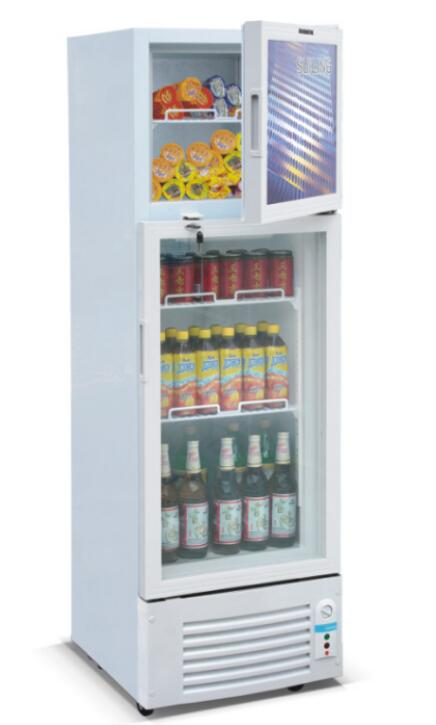 NS-SCS300 300liter Upright Electric Refrigerator Display Showcase Static Cooling