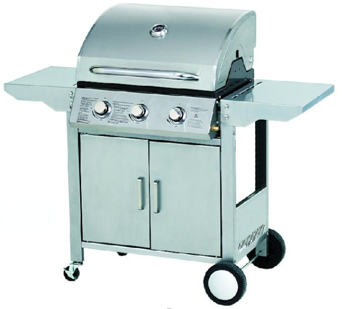 NS-BLS03A Foldable Side Table Gas Grill Barbecue
