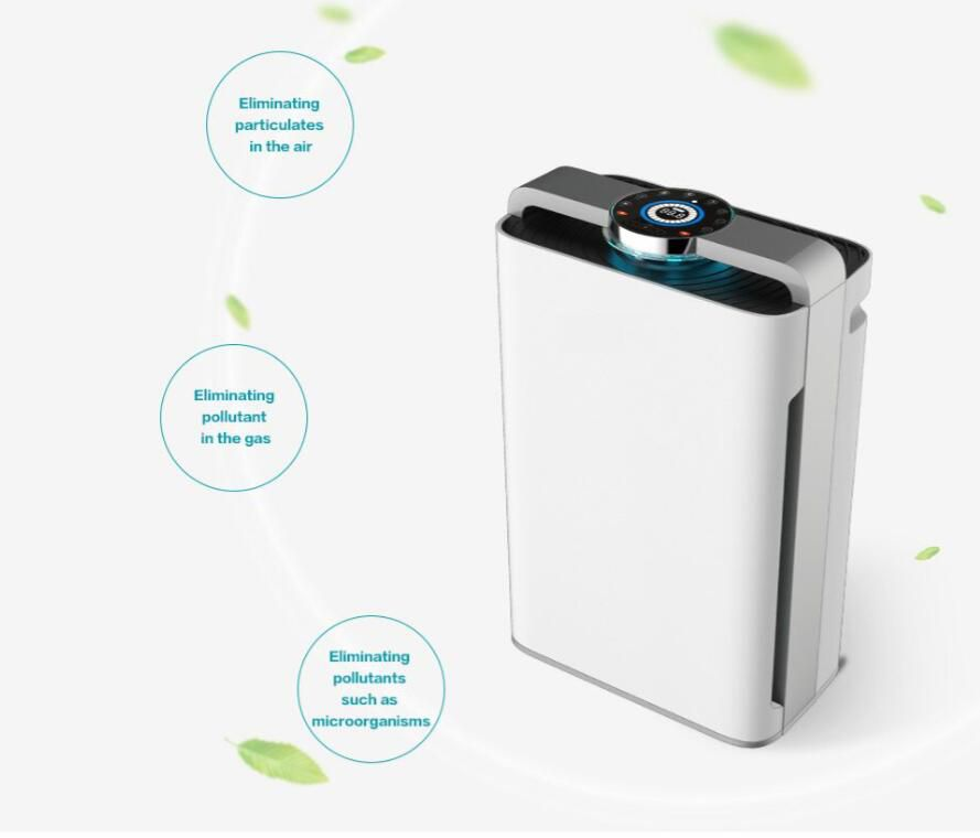 NS-APP01 7 Stage Air Purifier Air purifier + Ionizer Design + UV lamp (3 in 1)+Humidifier